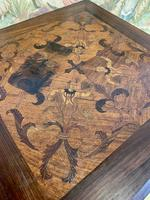 19th Century Carved Mahogany Occasional Table (6 of 7)