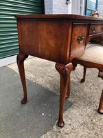 Antique Burr Walnut Dressing Table & Stool (4 of 10)