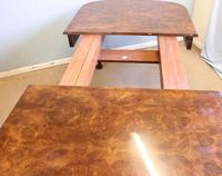 Quality Antique Burr Walnut Dining Table (13 of 14)