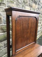 Antique Oak Dining Table Leaf Cabinet (5 of 9)