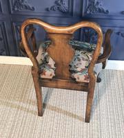 Quality Burr Walnut Child's Chair (6 of 13)