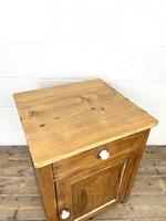 Rustic Antique Pine Side Cupboard (3 of 8)