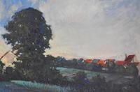 Landscape At Daybreak, Oil Painting by Sylvie Plessy (4 of 6)