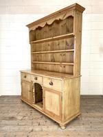 Antique Pine Farmhouse Kitchen Dresser (7 of 10)