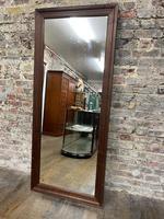 Steel Framed Mahogany Mirror (4 of 5)