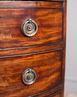 George III Mahogany Bowfront Chest of Drawers (3 of 5)