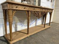 Wonderful French Walnut Console Table (11 of 36)