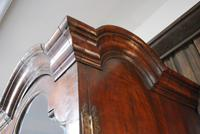 George I Walnut Double Dome Bookcase on Chest (10 of 10)