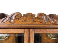 Antique Edwardian Oak Smoker's Cabinet (M-1571) (3 of 12)