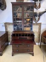 Victorian Mahogany Secrétaire Bookcase (4 of 8)