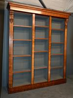 Antique Mahogany Open Bookcase (2 of 2)