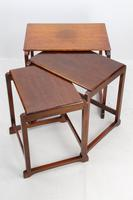 Small Art Deco Nest of Oak Tables (12 of 13)