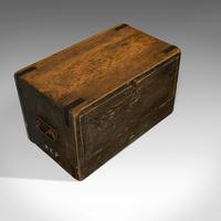 Antique Cobbler's Chest, Pine, Tool Trunk, Coffee Table, Victorian c 1900 (8 of 12)