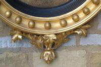 Outstanding Regency Giltwood Mirror With Eagle Crest (5 of 10)