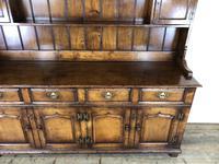 Large 20th Century Georgian Style Oak Dresser (7 of 23)
