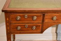 Regency Mahogany Writing Table Desk (4 of 8)