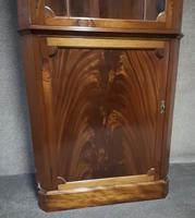 Mahogany Corner Cabinet in the Georgian Style (7 of 10)