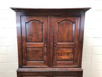 Large Antique 18th Century Welsh Oak Press Cupboard (M-808) (2 of 18)