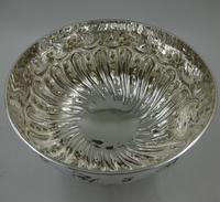Antique Victorian Silver Rose Bowl. London 1898 (6 of 8)