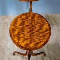 Pair of Mahogany Tripod Tables (2 of 9)