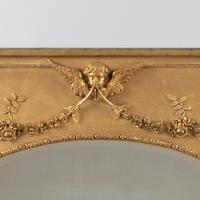 19th Century Victorian English Gilt Overmantle Mirror (6 of 8)