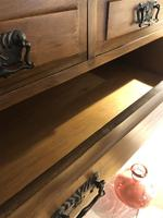 Antique Vintage Walnut Chest of Drawers (6 of 10)