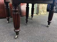 Antique Mahogany 3 Leaf Extending Dining Table (4 of 12)