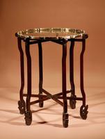 Elegant Chinese Harwood Folding Table c.1900 (3 of 10)