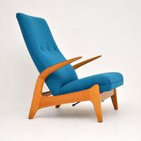 1960's Vintage Rock 'n' Rest Armchair by Rastad & Relling