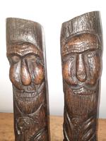 12th-15th Century Medieval Slavic Viking Carved Wooden Pagan Gods (5 of 6)