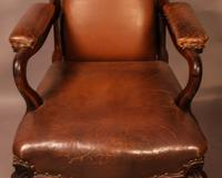 Good Early Victorian Gentlemans Library Armchair in Rosewood (6 of 9)