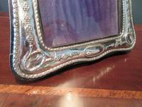 George V Period Silver Shaped Photo Frame (4 of 6)