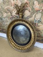Stunning English Regency Convex Mirror With Eagle (5 of 6)
