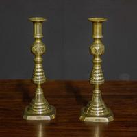 Victorian Brass Candlesticks (8 of 10)