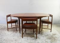 1970's G Plan mid century extending dining table and 4 dining chairs (2 of 6)