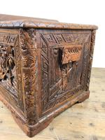 Early 20th Century Carved Camphor Trunk (12 of 14)
