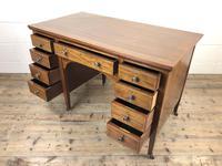 Antique Edwardian Mahogany Writing Desk (11 of 12)