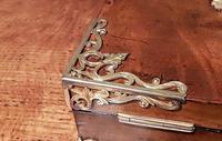 Superb Antique Figured Walnut Jewellery Box (3 of 6)