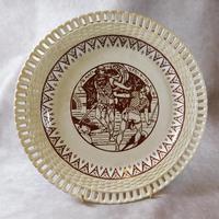 "19th Century ""Macbeth"" Pierced Plate (5 of 5)"