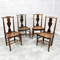Set of 4 Early 19th Century Country Dining Chairs (2 of 8)