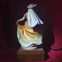 """Royal Doulton Figurine """"Dancers of the World - Mexican Dancer"""" with Original Custom Fitted Box and Certificate of Authenticity (9 of 9)"""