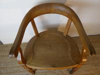 19th Century Oak Desk Chair (9 of 10)