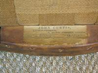 Good Early Victorian Mahogany Cabriole Stool (7 of 7)