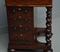 William IV Flame Mahogany Davenport Desk (9 of 18)