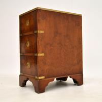 Burr Elm Military Campaign Style Side Chest (10 of 11)