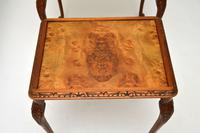 Queen Anne Style Burr Walnut Nest of Tables c.1930 (8 of 9)