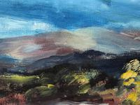 20th Century Oil Painting Wales Menai Bridge Church Straits Snowdonia Mountains (19 of 27)