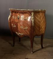 Small French Louis XVI Style Bombe Commode (5 of 12)