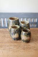 Scottish Pottery Slipware Barrel Storage Jars x4 (20 of 35)