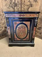 19th Century French Boulle Cabinet with Ormolu Detail